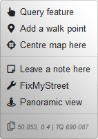 Context-menu preview